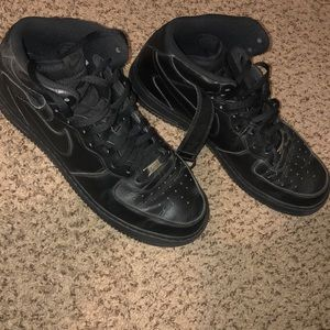 Nike Air Force 1 High Black Size 13